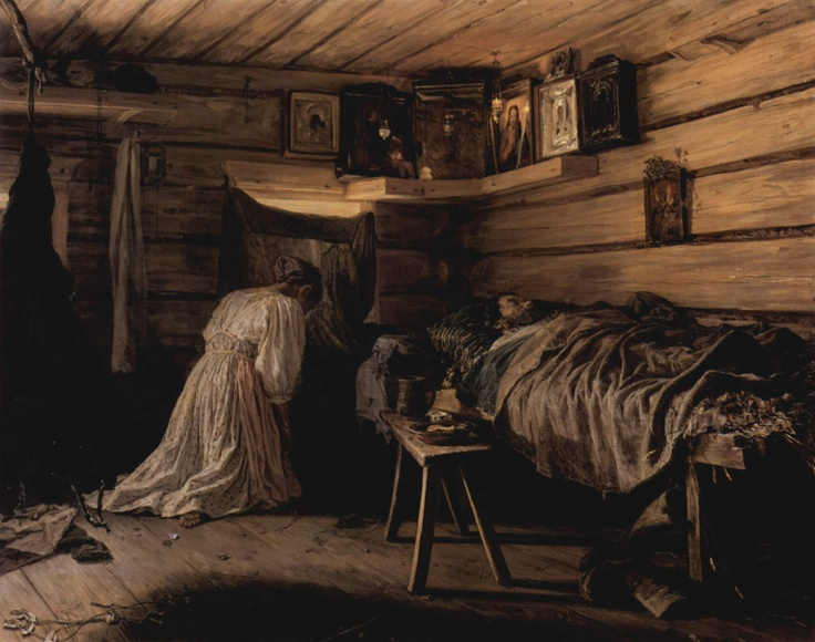 The sick man Vasili Maximov 1881